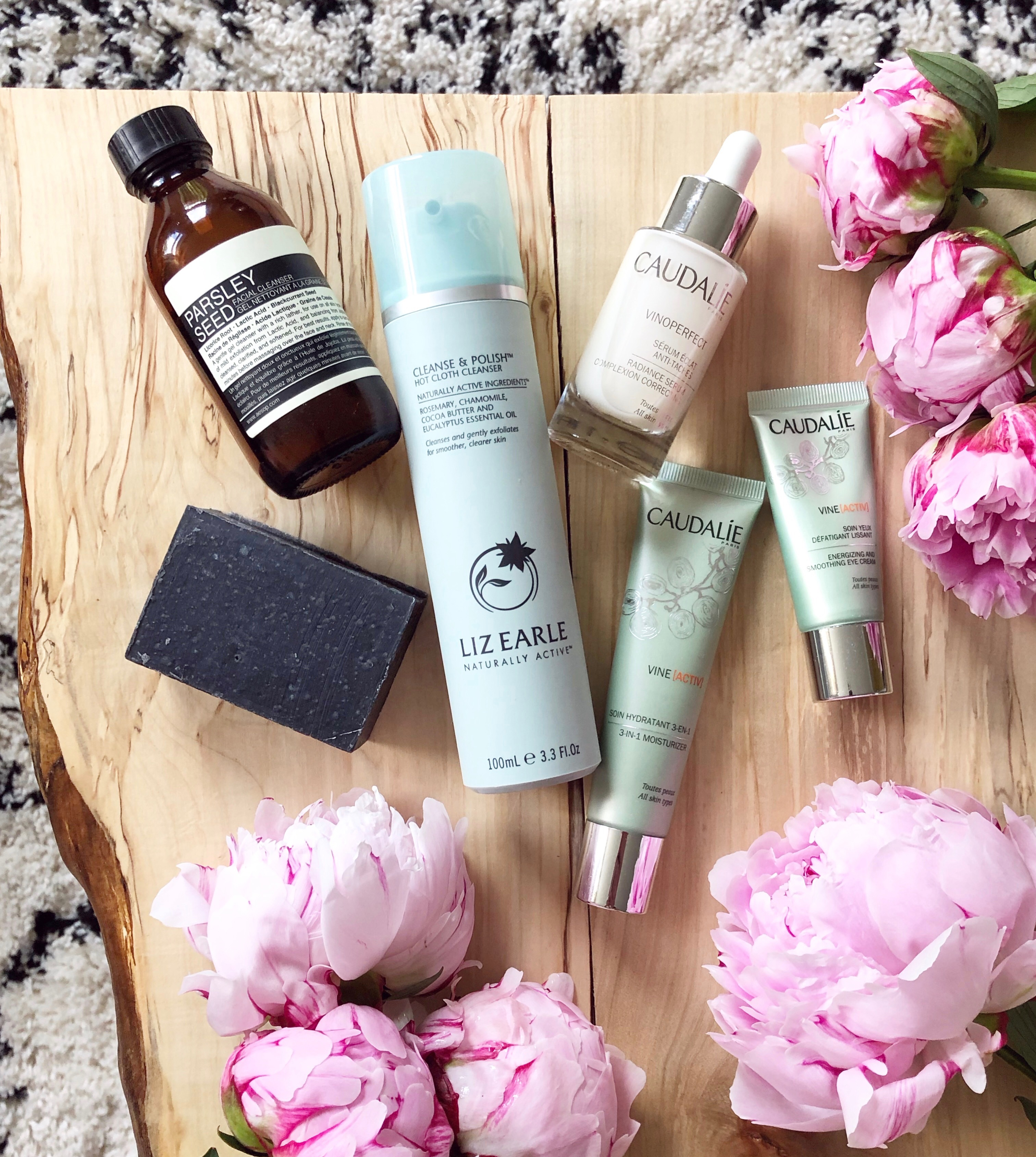 skincare over 30s liz earle aesop herbivore botanicals caudalie sensitive skin anti pollution anti ageing